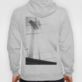 Bridge in Ludwigshafen, Germany. Hoody