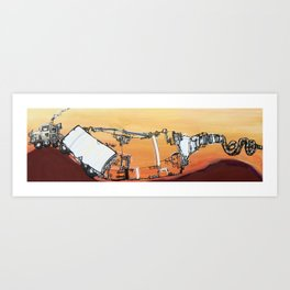 mpg Art Print
