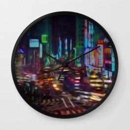 Litros city Wall Clock