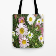 Daisies in the Grass Tote Bag