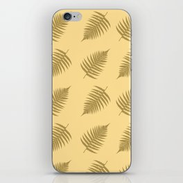 Fern pattern in cappuccino  iPhone Skin