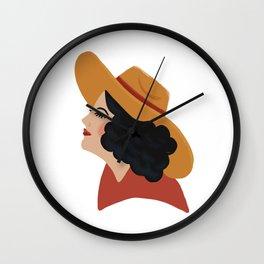 Sad Cowgirl Wall Clock