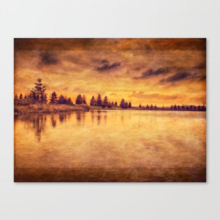 Memories Of Fall II Canvas Print