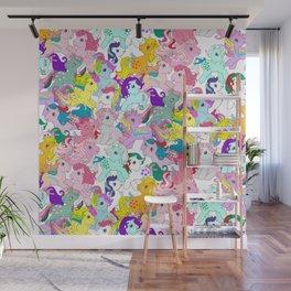 G1 my little pony pattern Wall Mural