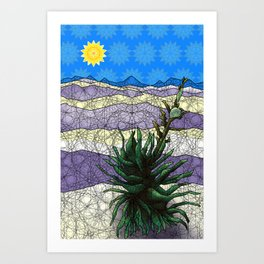 White Sands, New Mexico Art Print