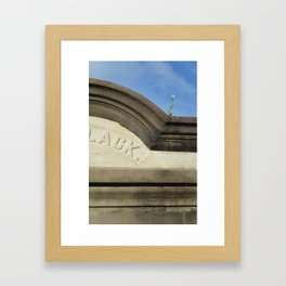 Life & Death Framed Art Print