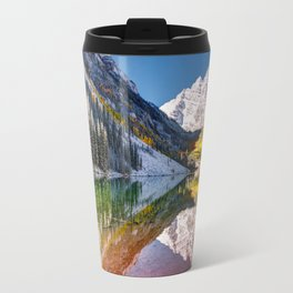 MAROON BELLS Travel Mug