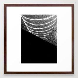 On Reflection Framed Art Print