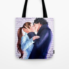 Sherlolly kiss Tote Bag