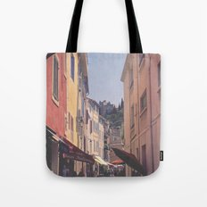 A Street In Cassis Tote Bag