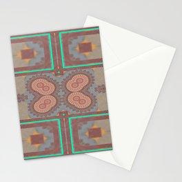 Pallid Minty Pattern 2 Stationery Cards