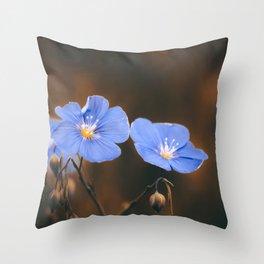 Flower Photography by Mack Fox (MusicFox) Throw Pillow