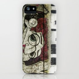 The writing on the wall iPhone Case