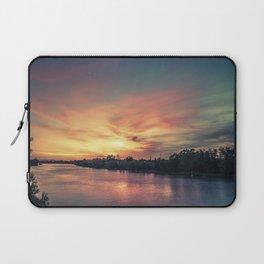 Sunset River - Sacramento River Laptop Sleeve