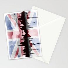 Great British Flag London Skyline 2 Stationery Cards