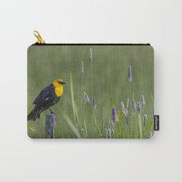 Yellow-Headed Blackbird, No. 1 Carry-All Pouch