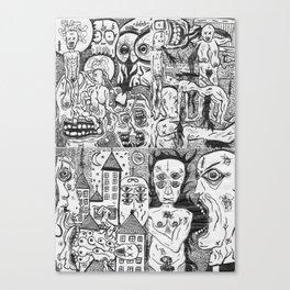 LIVFE I Canvas Print