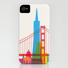 Shapes of San Francisco. Accurate to scale iPhone (4, 4s) Slim Case