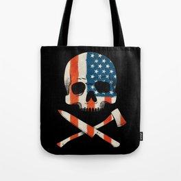 American P$ycho Tote Bag