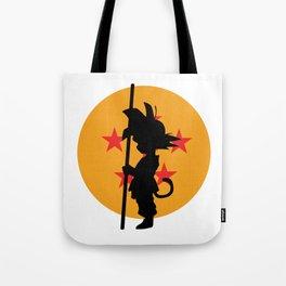 Son Goku Kakarot Childhood Tote Bag