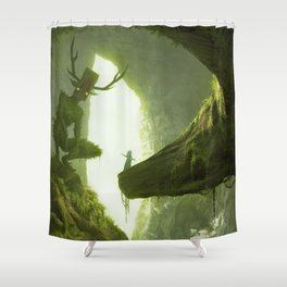 How do you mean you don't wanna go outside? Shower Curtain