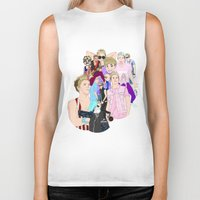 niall Biker Tanks featuring Niall Collage by Pinkeyyou