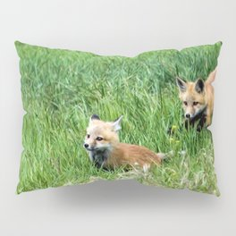 Run Little Brother Pillow Sham