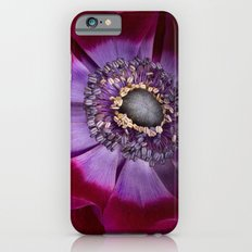 Anemone Coronaria - Macro iPhone 6 Slim Case