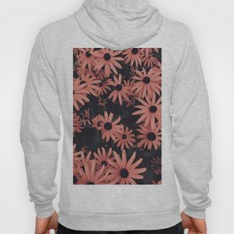 Peach SunFlowers Hoody