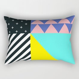 Memphis pattern 90 Rectangular Pillow