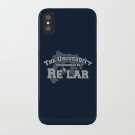 The University: Re'lar - The Name of the Wind iPhone Case