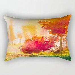 Autumn scenery #4 Rectangular Pillow