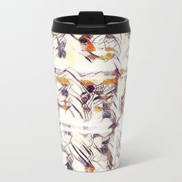 Homage to Kandinsky, with Watercolors Travel Mug
