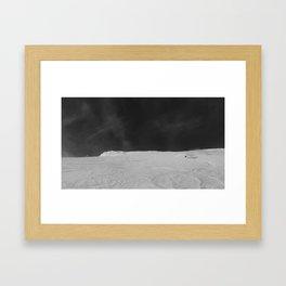 Bridger Cold smoke Framed Art Print