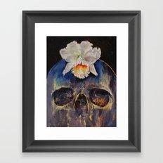 Voodoo Skull Framed Art Print