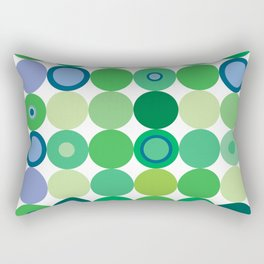 Circles of Luck Rectangular Pillow