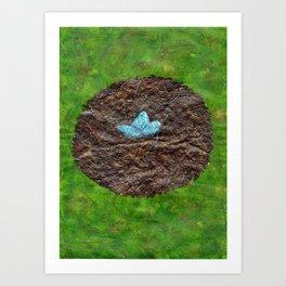 Birds Nest Art Print