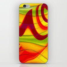 Abstract 129 iPhone & iPod Skin