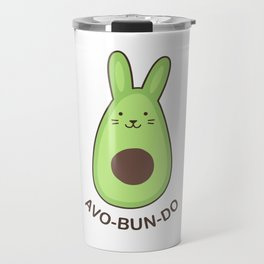 Avobundo (Avocado Bunny) Travel Mug