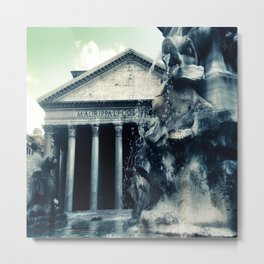 All Roads Lead to Rome Metal Print