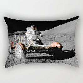 Apollo 17 - Moon Buggy Rectangular Pillow