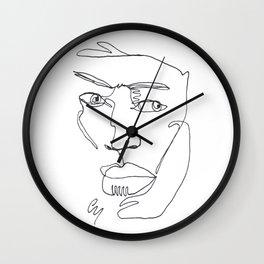 Marcel Print Wall Clock