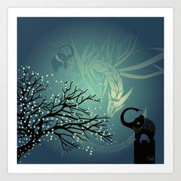 Dance of the Dragon Art Print