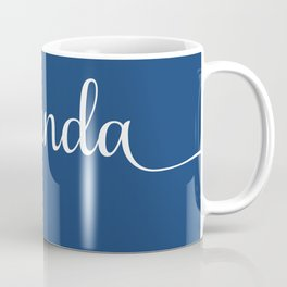 Towanda - french navy Coffee Mug