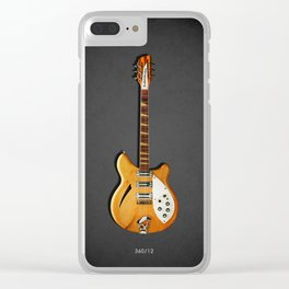The 360/12 Electric Guitar Clear iPhone Case