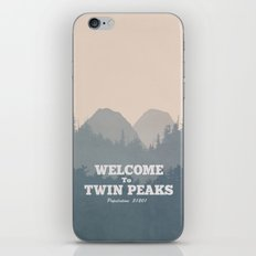 Welcome to Twin Peaks v2 iPhone Skin