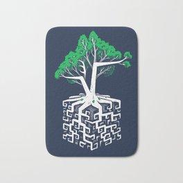 Cube Root Bath Mat