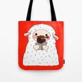 Chocolate Lamb Tote Bag