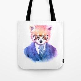 Cute fashion hipster animals pets red panda Tote Bag