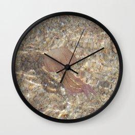 Pink Jellyfish Wall Clock